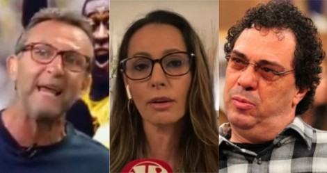 Ataques de Casagrande e Neto contra Ana Paula Henkel resultam em ações judiciais contra Globo e Band
