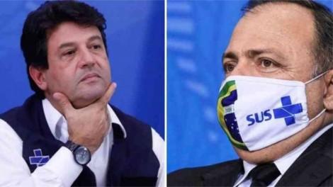 Senador quer acareação entre Mandetta e Pazuello