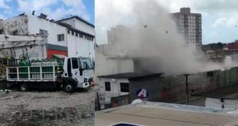 Grande explosão em unidade da White Martins (veja o vídeo)