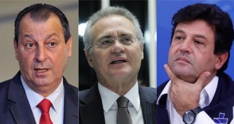 """O tirano da hora e o marionete da vez... """"E o Renan é bandido"""", dispara Augusto Nunes (veja o vídeo)"""