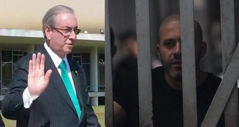 TRF-4 revoga prisão de Eduardo Cunha e STF mantém Daniel Silveira preso e o torna réu