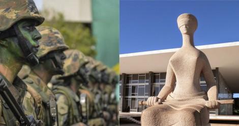 AO VIVO: O STF e a subversão da Justiça / A carta do Clube Militar (veja o vídeo)