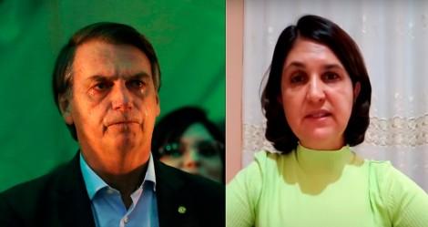 Mulher sonha com Bolsonaro, faz revelação surpreendente e vídeo viraliza na web (veja o vídeo)