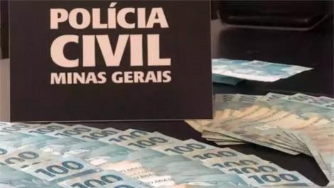 Presa mulher que desviou R$ 500 mil da patroa