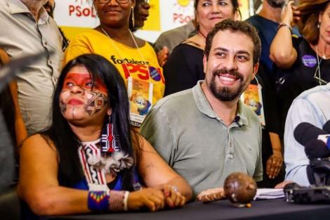 """A PF no encalço e o """"crime"""" da indígena do PSOL, vice de Boulos em 2018"""