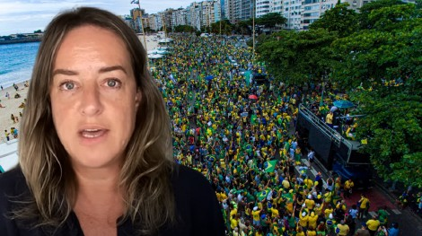 """Depois de ver o sucesso das manifestações, jornalista da Folha dá chilique, destila o """"ódio"""" na web e o povo reage"""