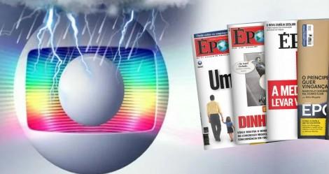 Em derrocada sem fim, Globo decide acabar com a revista Época