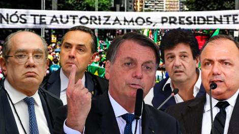 AO VIVO: Os próximos passos de Bolsonaro / Presidente detona Barroso / Globo em decadência (veja o vídeo)