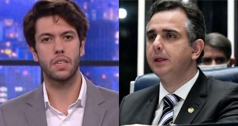 """Por """"censura"""" e """"covardia política"""", Caio Coppolla aciona o STF contra Pacheco (veja o vídeo)"""