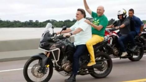 """Governo conclui ponte histórica e Bolsonaro encontra maneira de fazer a """"mídia do ódio"""" divulgar o feito (veja o vídeo)"""