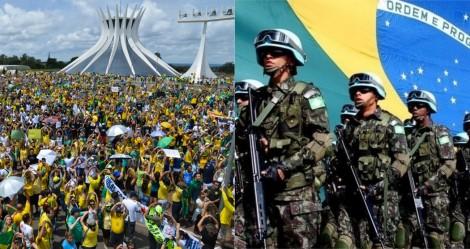 Preservando a Lei Suprema: Forças Armadas ao lado do povo