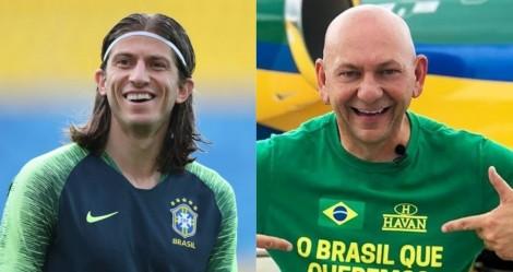 """Filipe Luís comemora patrocínio da Havan ao Flamengo e deixa a """"esquerdalha"""" em """"polvorosa"""""""