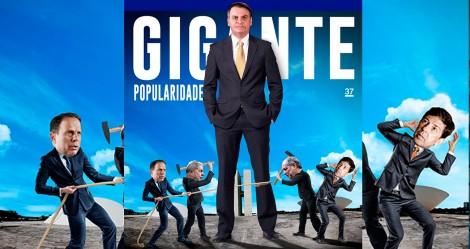 O fenômeno Bolsonaro: A popularidade é gigante e continua crescendo