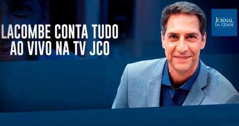 Luis Ernesto Lacombe conta tudo ao vivo na TV JCO (veja o vídeo)