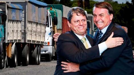 AO VIVO: Bolsonaro e Tarcísio dão show na Infraestrutura (veja o vídeo)