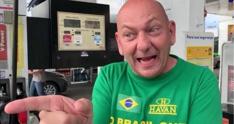 """Luciano Hang lança """"Dia do Imposto Zero"""" e vende gasolina a apenas R$ 3,39 (veja o vídeo)"""