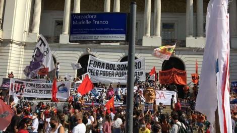 VEXAME: Manifestação convocada por partidos de esquerda não tem adesão popular (veja o vídeo)