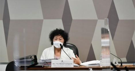 """""""Me sinto agredida, em um gabinete de exceção"""", desabafa Nise Yamaguchi, durante a CPI (veja o vídeo)"""