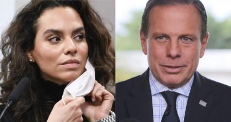 Oportunista, Dória convida Luana Araújo para a Secretaria de Saúde de SP