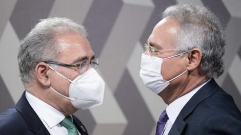 "Queiroga dá ""sova"" em Renan... Só faltou esfregar a cartilha ""na cara"" do senador (veja o vídeo)"