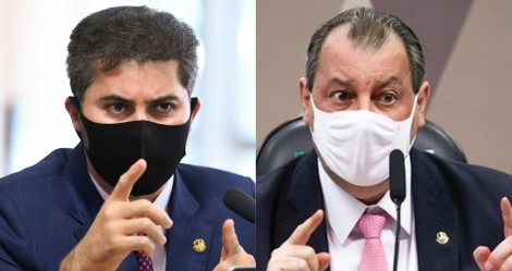 """Omar Aziz é pego """"no contrapé"""" e tem argumento """"engolido"""" por Marcos Rogério (veja o vídeo)"""