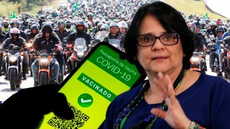 AO VIVO: O recorde de Bolsonaro / A polêmica do passaporte sanitário / Adélio livre? (veja o vídeo)