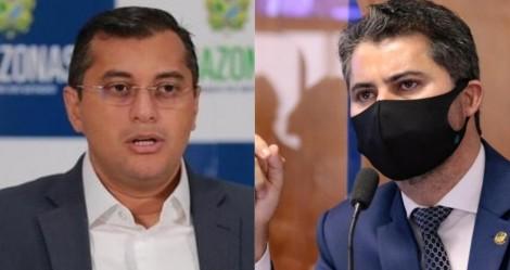 """Marcos Rogério sobe o tom e detona governador do Amazonas: """"Fugiu da CPI"""" (veja o vídeo)"""
