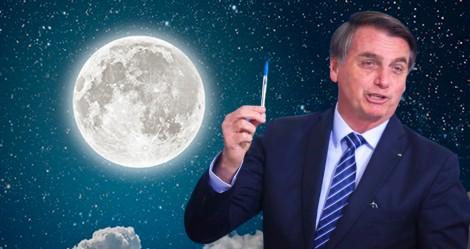 Como um foguete, Jair Bolsonaro faz o Brasil subir nas alturas em acordo com a NASA