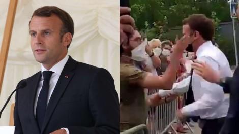 Tapa na cara e saco de farinha na cabeça… Os franceses não estão felizes com seus políticos
