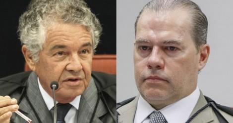 """Marco Aurélio abre novamente a """"caixa preta"""" e revela que Toffoli escolheu a dedo o relator do Inquérito das Fake News (veja o vídeo)"""