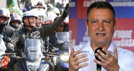 Desesperado com motociata em Salvador, petista Rui Costa faz ameaças (veja o vídeo)