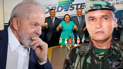 General detona roubalheira no Consórcio do Nordeste e 'palhaçada' da CPI (veja o vídeo)