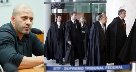"""URGENTE - Mesmo após fiança, Daniel Silveira segue preso e advogada denuncia o STF: """"É preso político"""""""