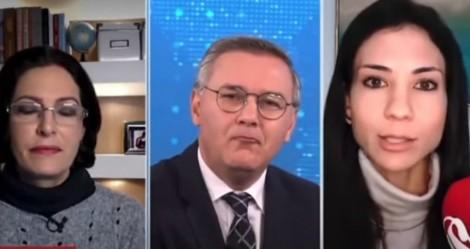 """Amanda Klein inventa a """"corrupção de conto de fadas"""" e é detonada por colegas jornalistas (veja o vídeo)"""