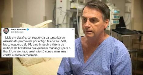 """URGENTE: Ainda em consequência da """"facada"""", Bolsonaro deve ser submetido à operação de emergência"""
