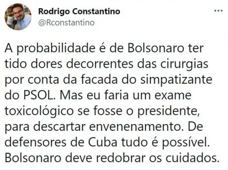 """470x0_1626371083_60f0740b19058_hd Constantino faz alerta sobre internação de Bolsonaro e pede """"exame toxicológico para descartar envenenamento"""""""