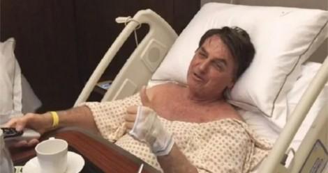 Do hospital, Jair Bolsonaro desmascara CPI e expõe pilantras que acusam o governo (veja o vídeo)