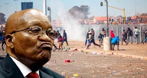 Protestos explodem na África do Sul (veja o vídeo)