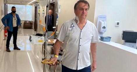 """Para o terror da """"esquerdalha"""", direto do Hospital, Bolsonaro avisa: """"Em breve, de volta a campo"""""""
