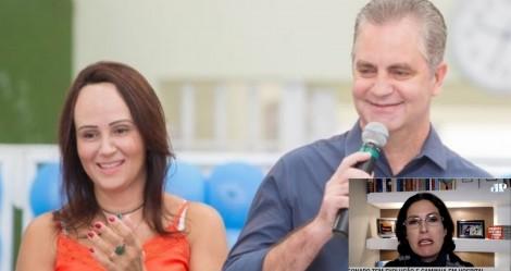 Psicóloga e primeira-dama de Maringá deseja as mortes de Bolsonaro e Olavo e revolta a população (veja o vídeo)