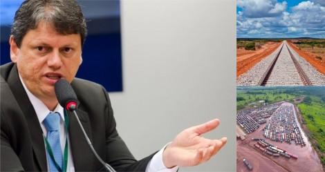 Ministro Tarcísio 'esbofeteia a cara' dos falsos ambientalistas e inimigos do progresso
