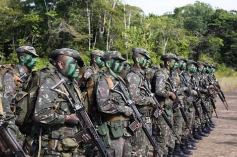 Para combater ações de criminosos, militares realizam operação na Amazônia (veja o vídeo)