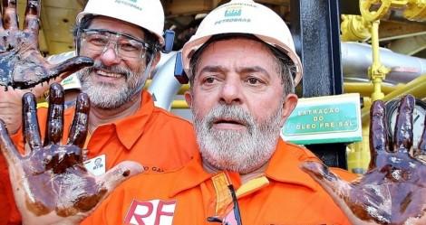 """Em escancarado cinismo, Lula """"esquece"""" escândalo do Petrolão e faz planos para a Petrobras (veja o vídeo)"""
