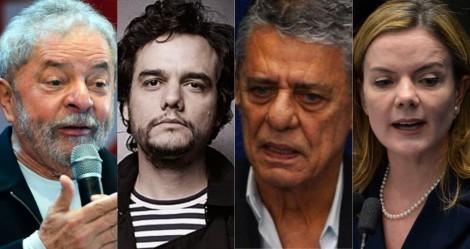 Lula, Gleisi, Wagner Moura e Chico Buarque assinam carta aberta à Biden, em defesa da ditadura cubana