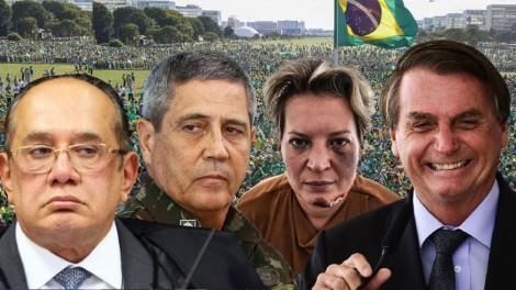 AO VIVO: O superpartido de Bolsonaro / Gilmar Mendes x Braga Netto / Joice cassada? (veja o vídeo)