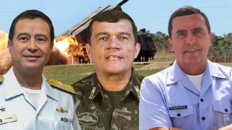 Forças Armadas preparadas para garantir a liberdade! Brasil tem o maior poder de fogo da América Latina (veja o vídeo)