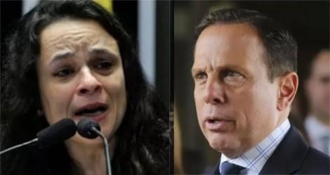 """Janaína escancara oportunismo de Doria: """"Se elegeu na onda conservadora, mas abraçou o PSOL"""""""