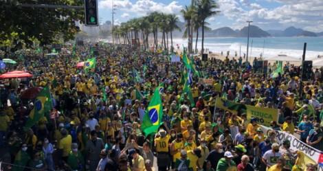 Em Copacabana, povo não decepciona e multidão sai em defesa do voto auditável (veja o vídeo)