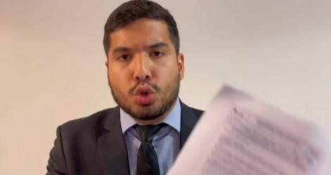 Deputado mostra prova aplicada em escola pública onde professor faz militância e ataca Bolsonaro (veja o vídeo)