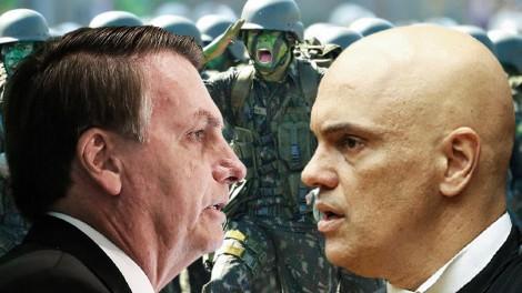 AO VIVO: 250 advogados contra Alexandre de Moraes / Lula não quer militares na política (veja o vídeo)